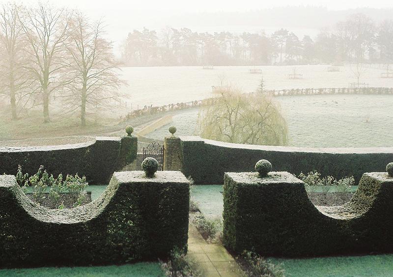 重要なのは冬の庭