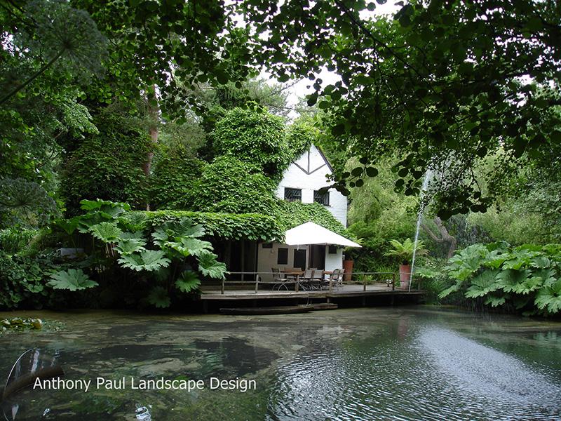 Anthony Paul の庭 No.1 ガーデンデザイナー 麻生恵